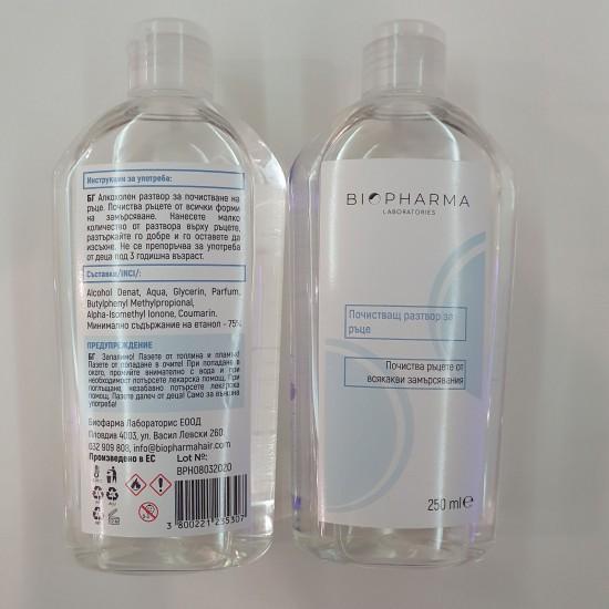 Дезинфектант за ръце BioLabs 250 мл. - 75%