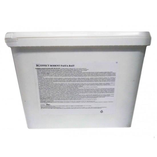 ЕФЕКТ паста Отрова за плъхове и мишки 10 кг.