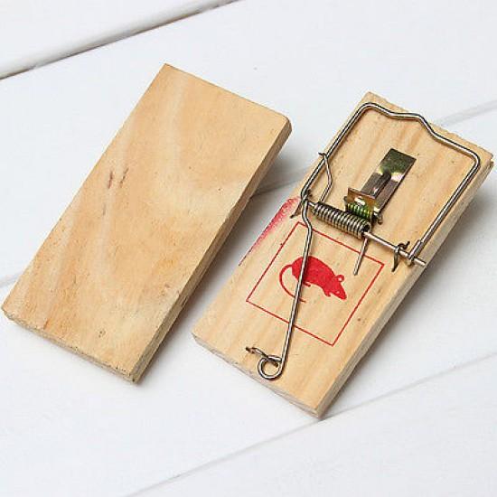 Класически механичен капан за мишки и плъхове