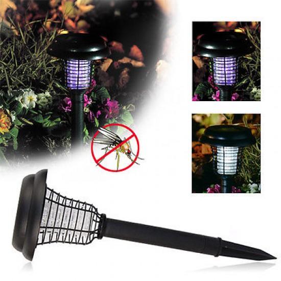 Соларна LED лампа против комари