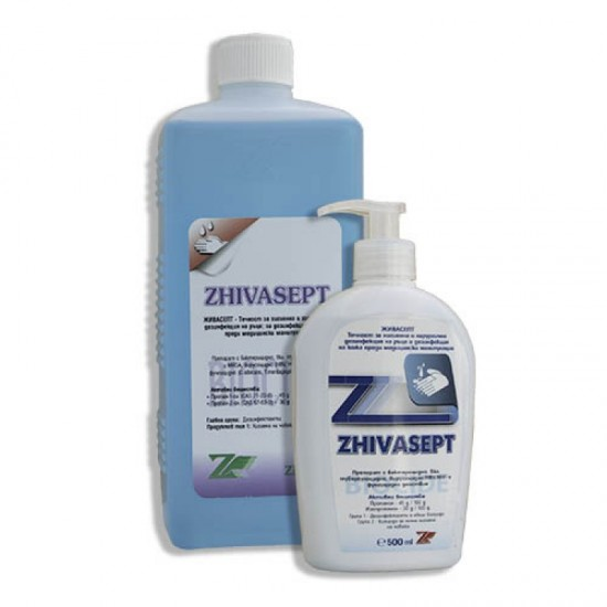 Живасепт 500 мл. течност дезинфектант за ръце